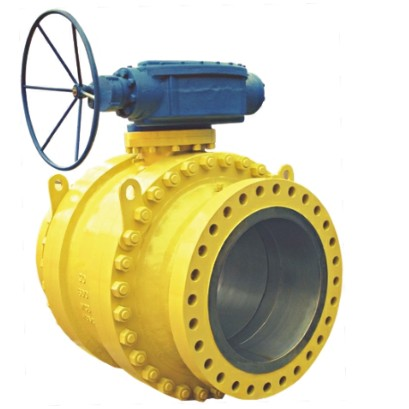 Cast steel trunnion mounted ball valve 300lb