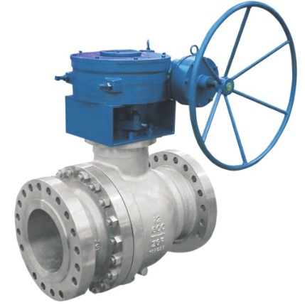 Cast steel float ball valve 600Lb