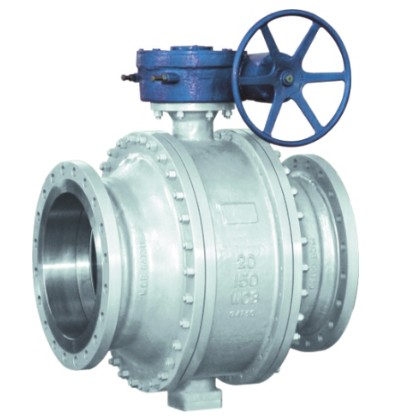 Cast steel trunnion mounted ball valve 150lb