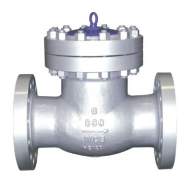 Cast steel check valve 600Lb