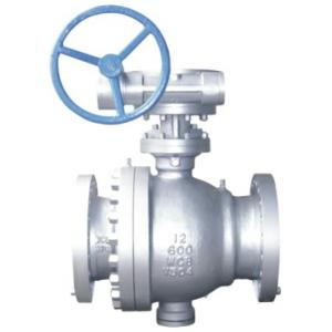 Cast steel trunnion mounted ball valve 600lb