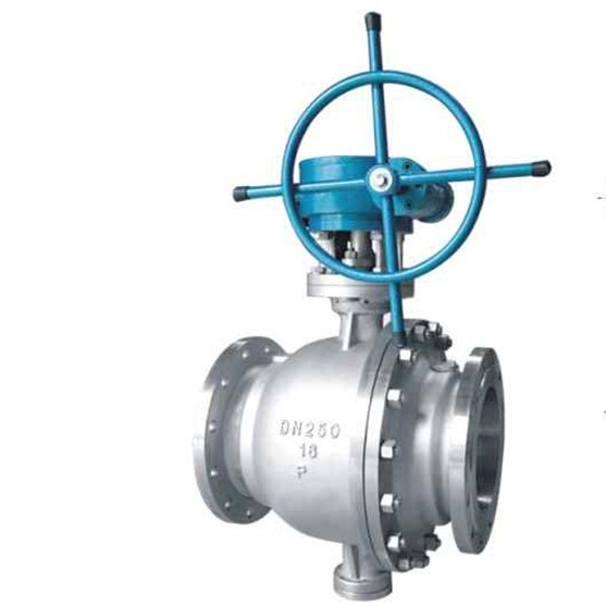 Q347F Trunnion mounted ball valve