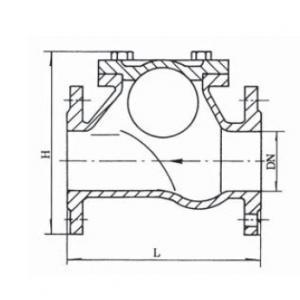 HQ41X Ball check valve