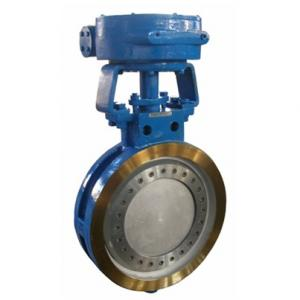 Wafer type high performance butterfly valve