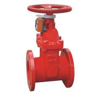 Z45X Signal fire gate valve