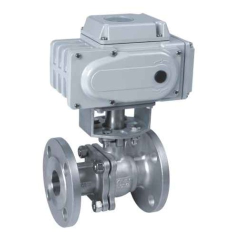 Q941F Flange electric ball valve