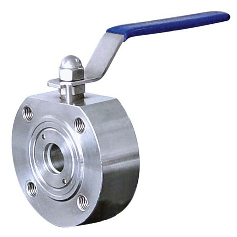 Short type ball valve