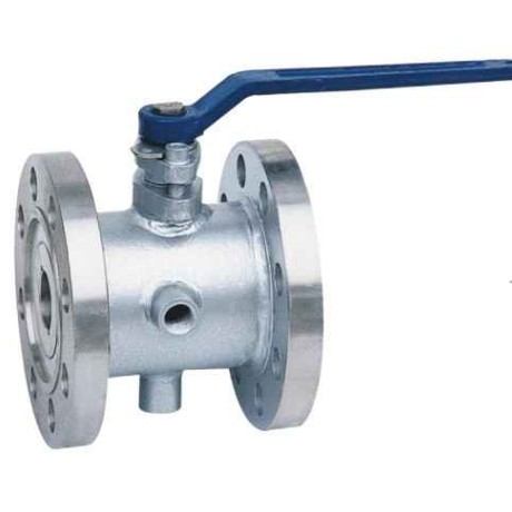 Jacket ball valve