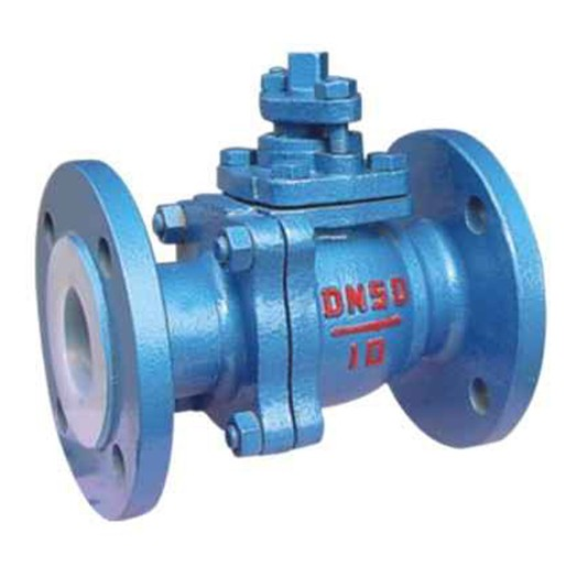 Q41F46 PTFE lined ball valve