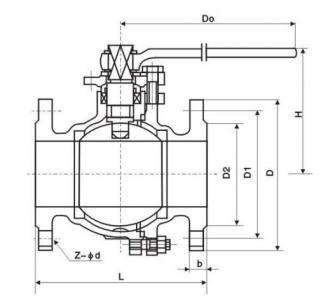 JIS 10K ball valve