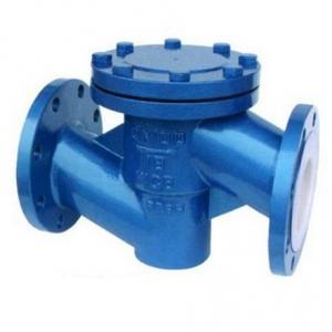 H41F46 Lift PTFE lined check valve