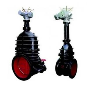 Z945T Big size electric cast iron gate valve