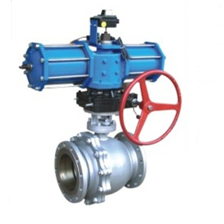 Q641F Pneumatic floating ball valve