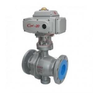 Q947F Electric trunnion mounted ball valve