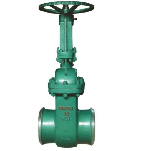 Butt weld vaccum gate valve