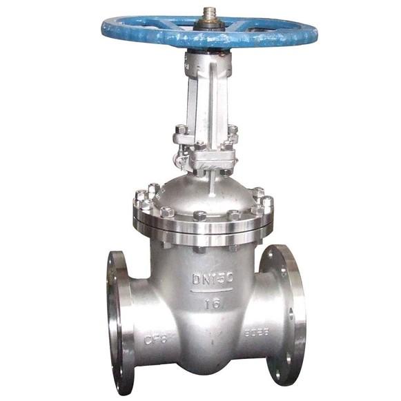Z41H-10P CF8 CF8M gate valve