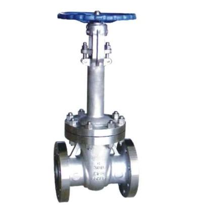 Low temperature gate valve