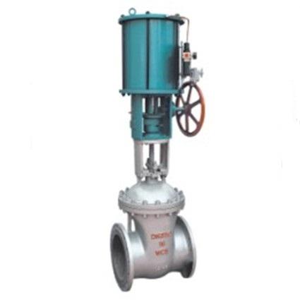 Z641H Pneumatic gate valve