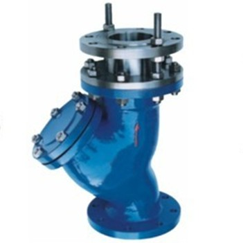 Y type telescopic strainer