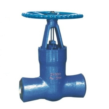 Butt weld high pressure gate valve