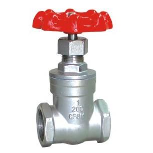 Z15W Female thread gate valve