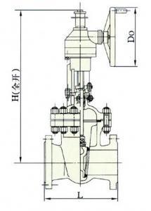 bevel gear gate valve