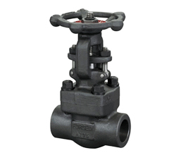 Bolted bonnet forged gate valve