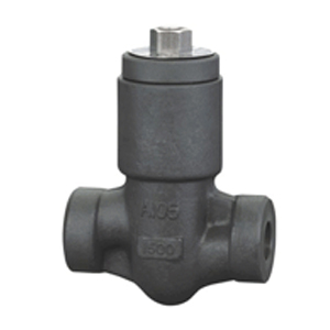 Pressure self-sealing check valve