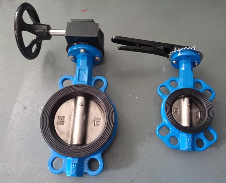 Central line butterfly valve