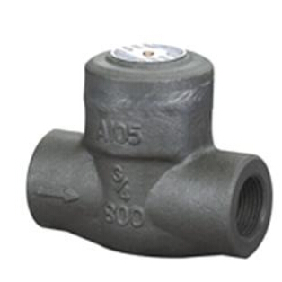 Weld bonnet forged check valve