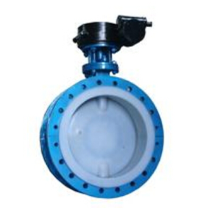 D341F46 Full FEP Coated butterfly valve
