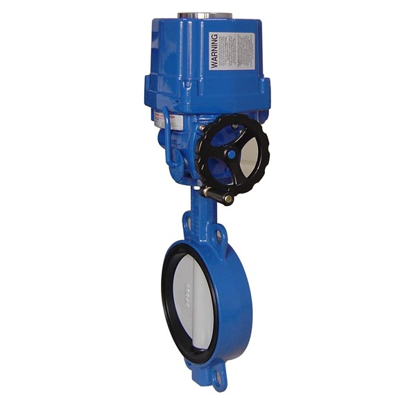 High quality electrical butterfly valve