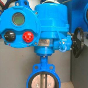 D971X QT type electrical butterfly valve