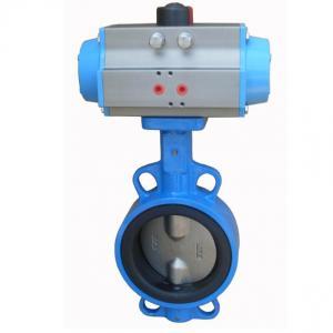 D671X-16Q Pneumatic driven butterfly valve