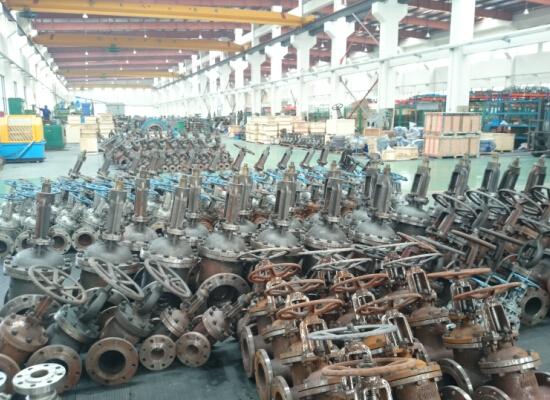 shanghai huixuan valve workshop 2