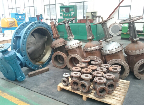 shanghai huixuan valve workshop 5
