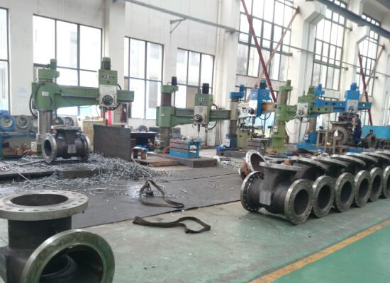 shanghai huixuan valve workshop 6