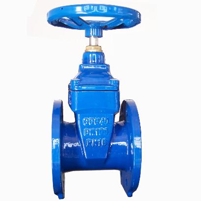 DIN3352 F4 rubber seat gate valve