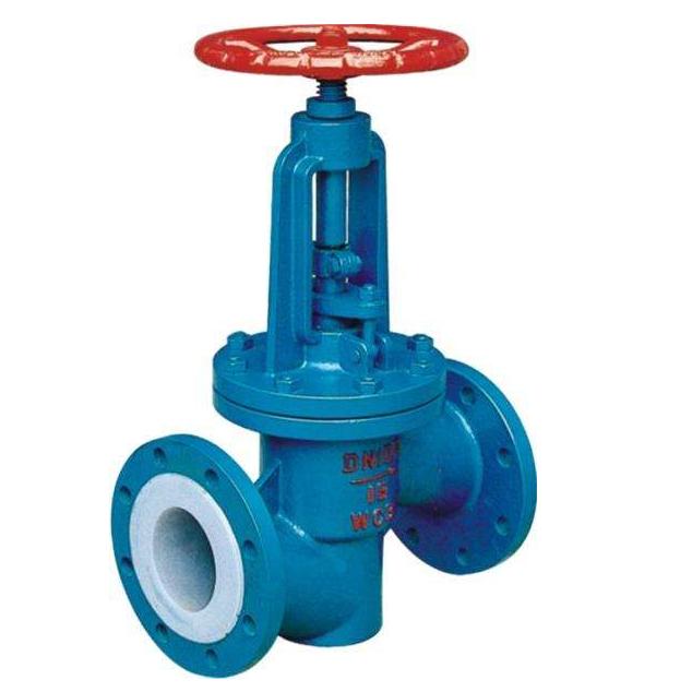 PFA Lined globe valve