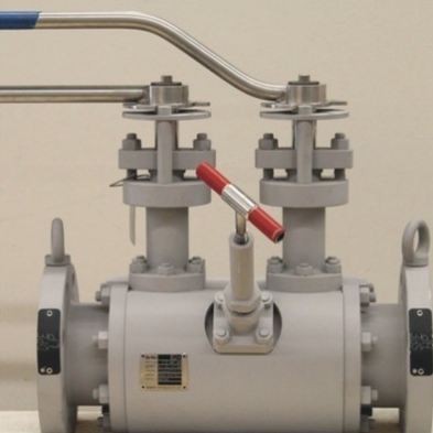 Trunnion Double Block and Bleed ball Valve