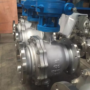Duplex stainless steel ball valve