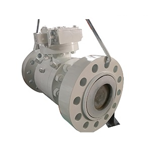 High Pressure Carbon Steel Ball Valve