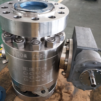 Trunnion Mounted Ball Valve, ASTM A105, 2500LB