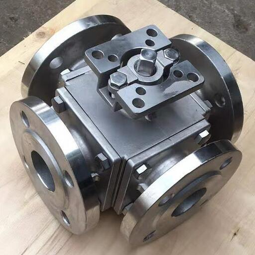 4 Way diverter ball valve