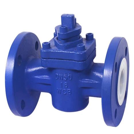 FEP PTFE PFA Lined plug valve
