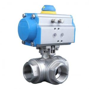 Pneumatic air operated ball valve