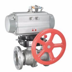 Carbon steel pneumatic ball valve