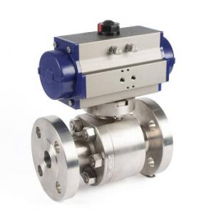 Pneumatic stainless steel ball valve