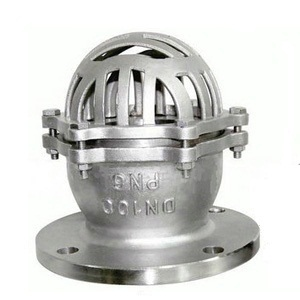 H42X Stainless steel foot valve