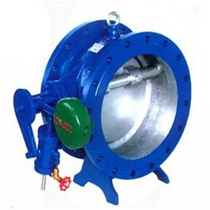 HH47X butterfly hydraulic check valve